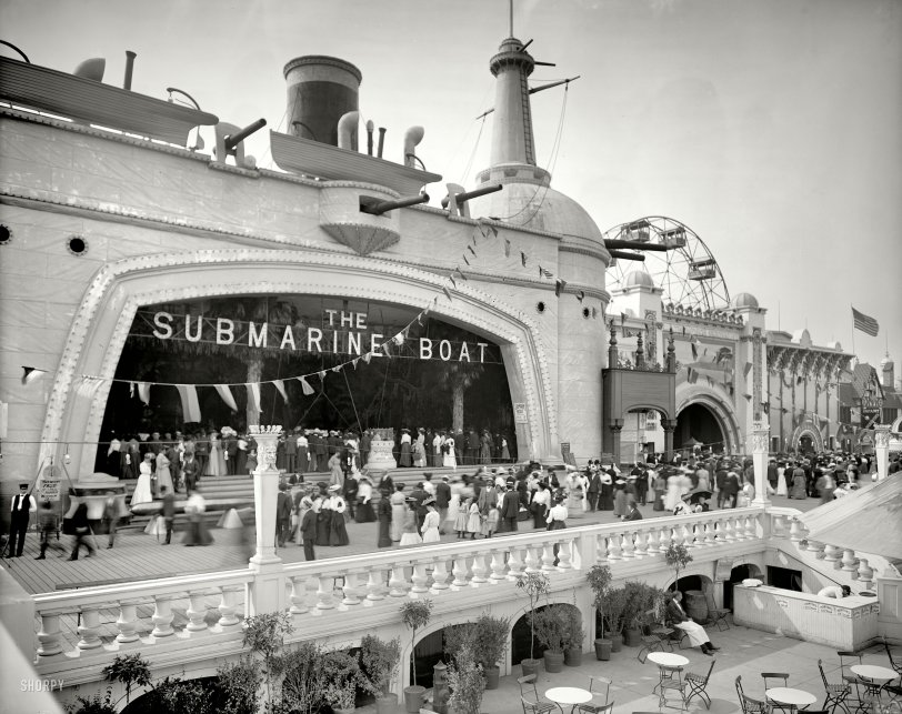 The Submarine Boat: 1904