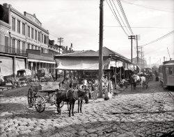 French Market: 1906