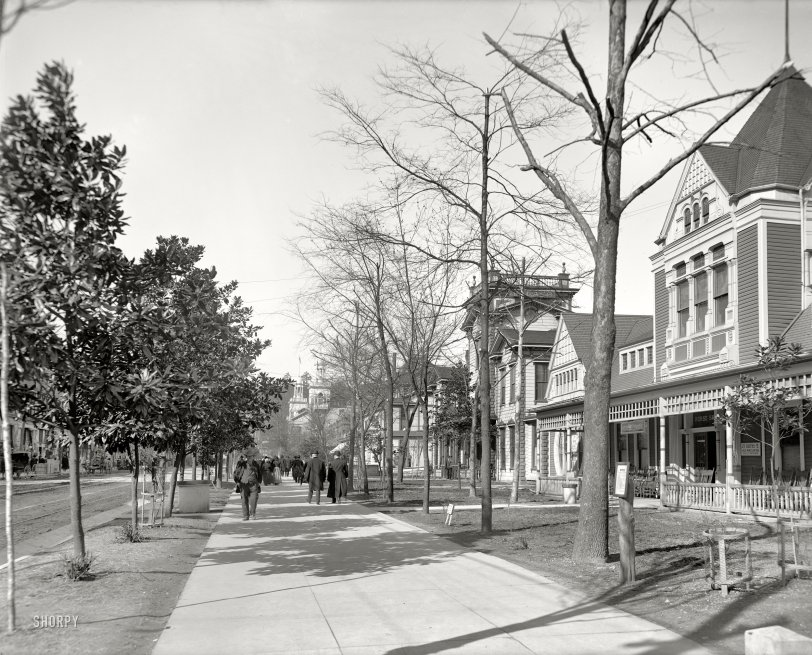 Bathhouse Row: 1910