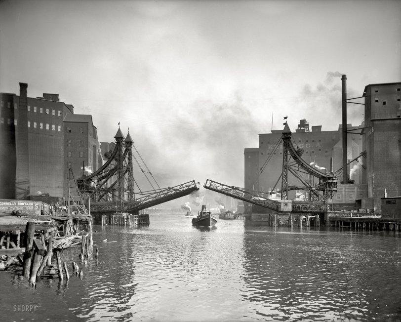 Jack-Knife Bridge: 1905