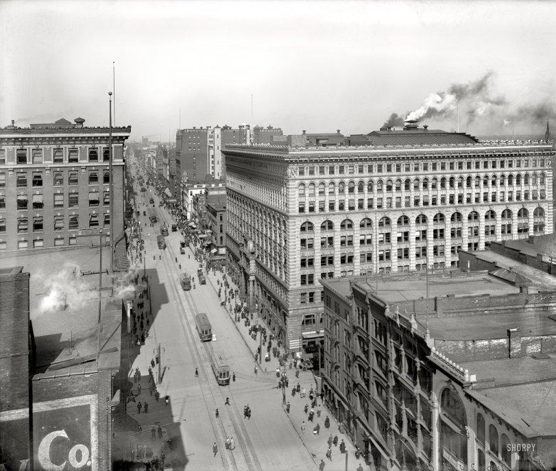 Teeming Buffalo: 1905