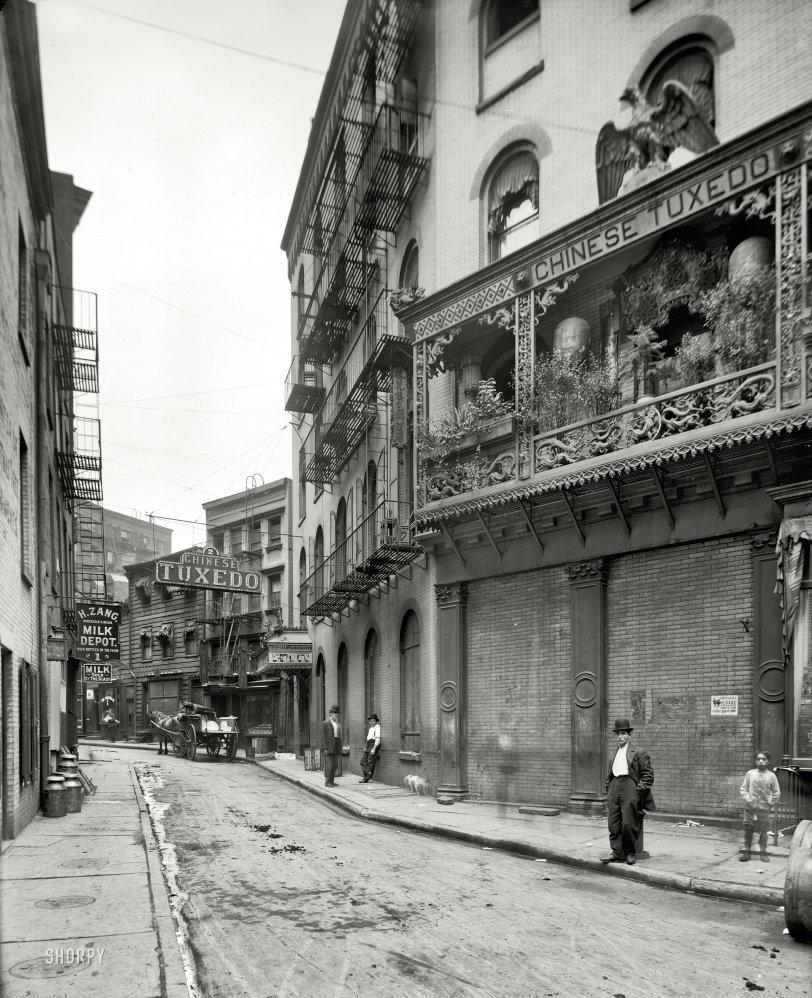 Chinese Tuxedo: 1901