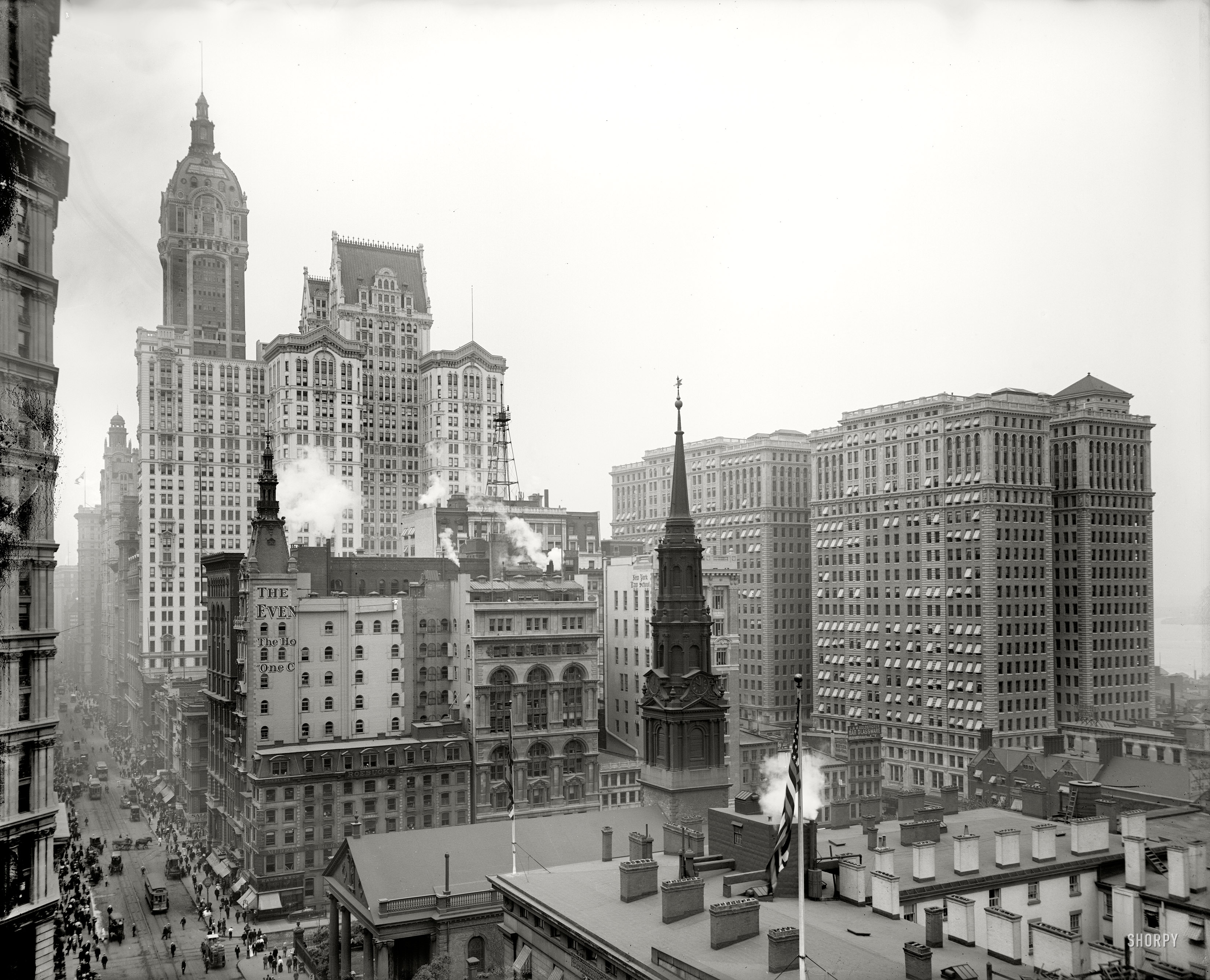 Shorpy Historic Picture Archive Gotham City 1910 High
