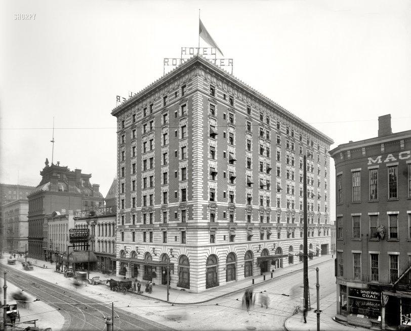 Hotel Rochester: 1908