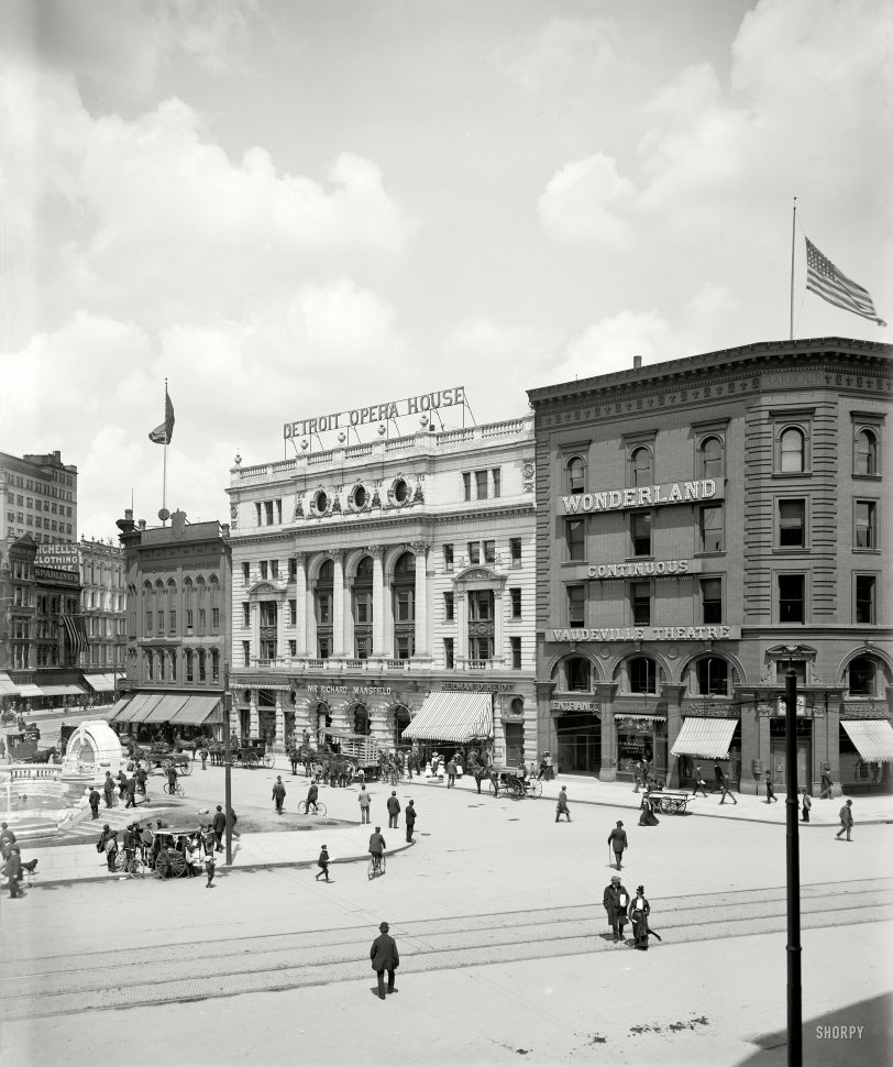 Detroit Opera House: 1900