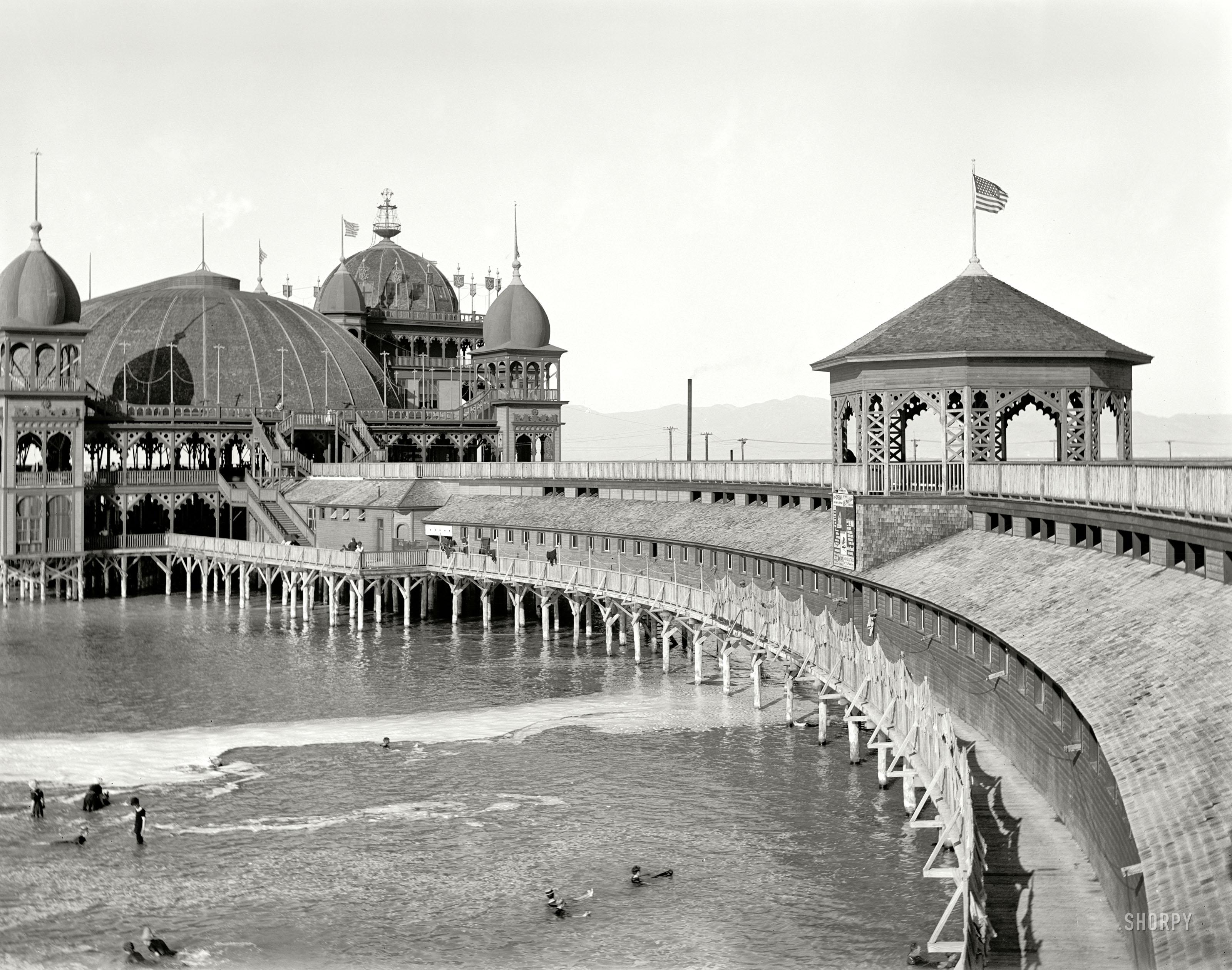 Shorpy Historic Picture Archive Saltair Pavilion 1900