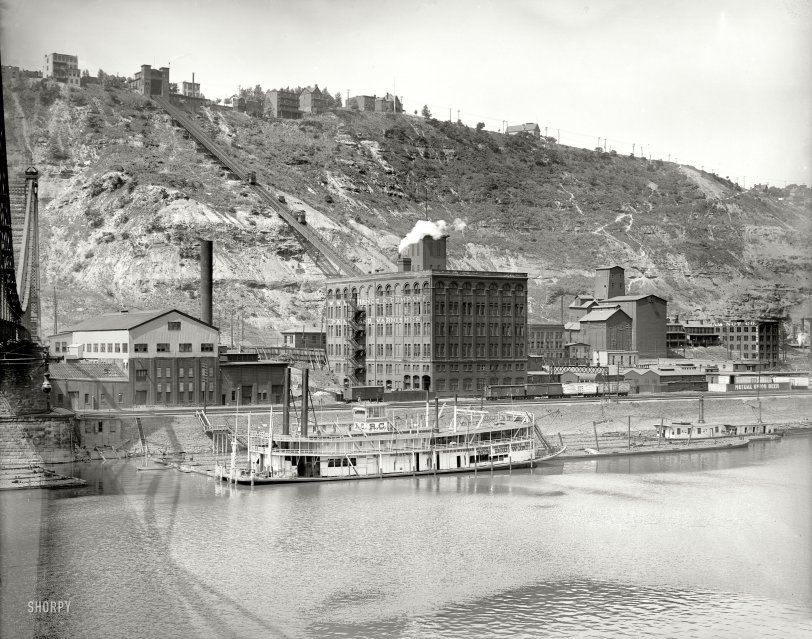 Duquesne Incline: 1900