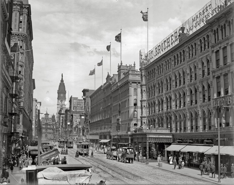 Market Street: 1905