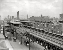 36th Street Station: 1908