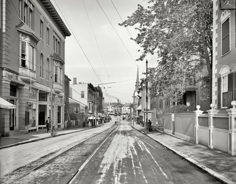 Congress Street: 1910