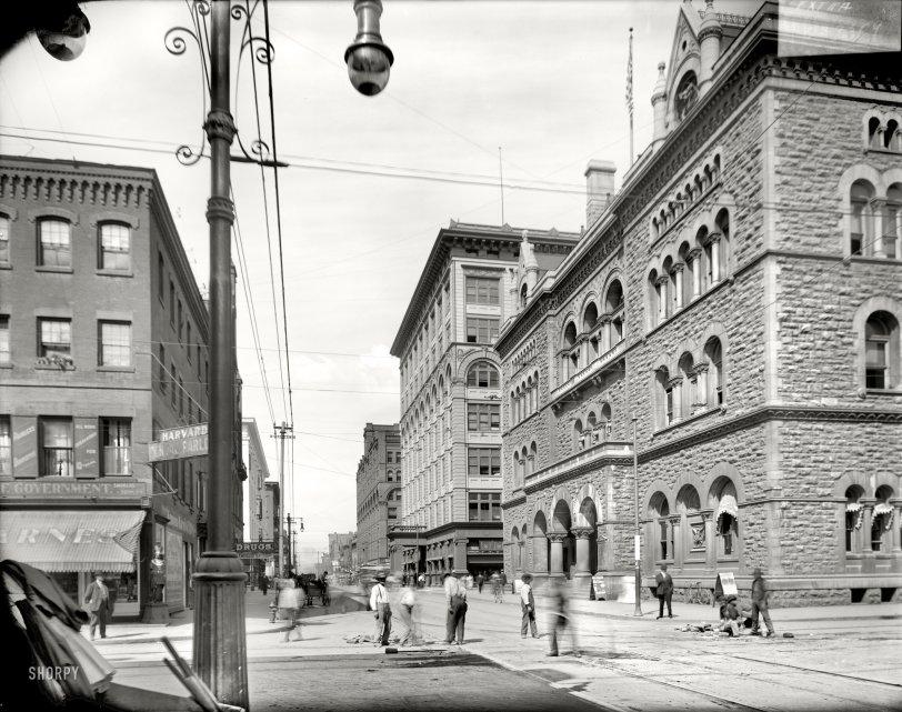 Fayette Street: 1910