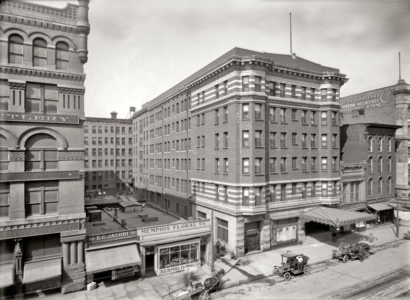 Hotel Gayoso: 1910