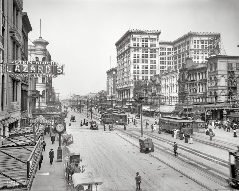 Canal Street: 1910