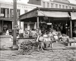 French Market: 1910