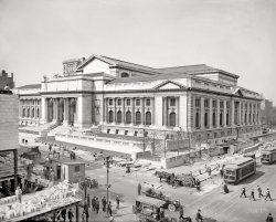 New York Public Library: 1910