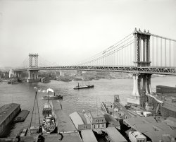 Manhattan Bridge: 1910