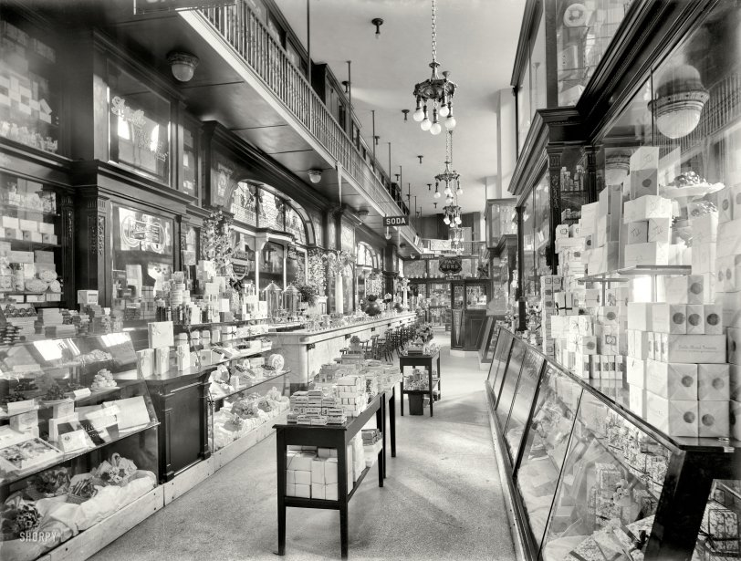 Candy Soda Drugs Kodaks: 1910