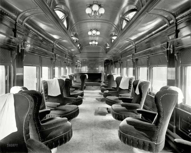 Parlor Car 1905 Shorpy Old Photos Vintage Photography