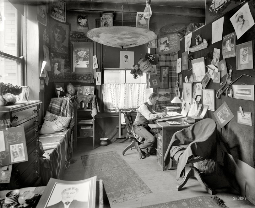 The Artist in His Studio: 1902