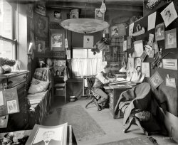 The Artist in His Studio: 1902