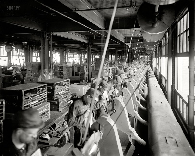 Polishing Dept.: 1902