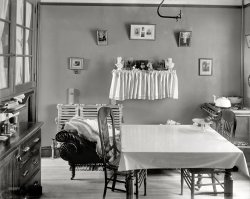 Tenement Kitchen: 1905