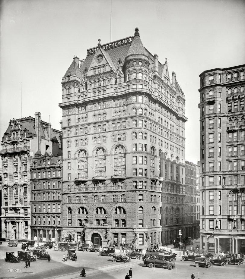 Hotel Netherland: 1913