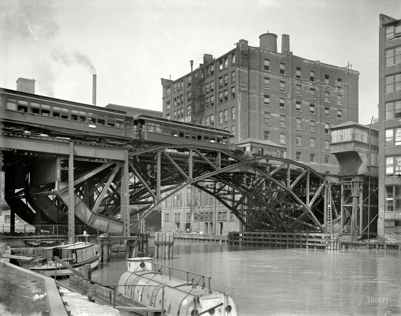 Jackknife Bridge: 1907
