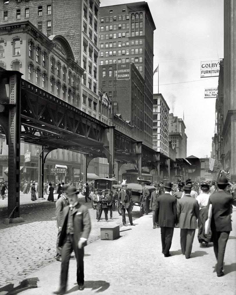 Along the El: 1907