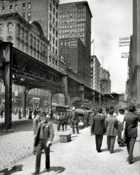 Along the El: 1907