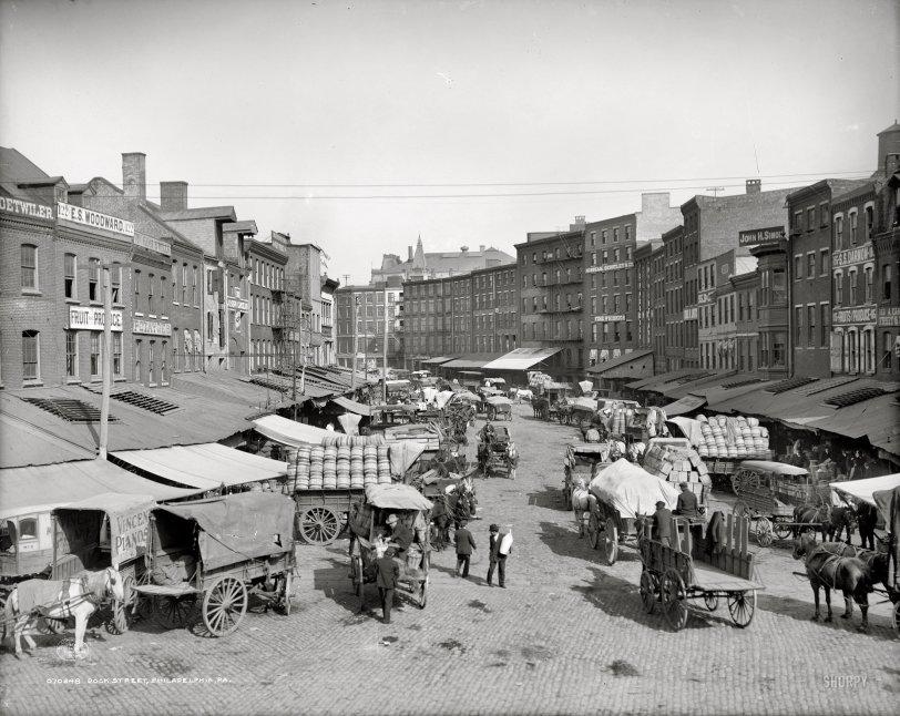 Dock Street: 1908