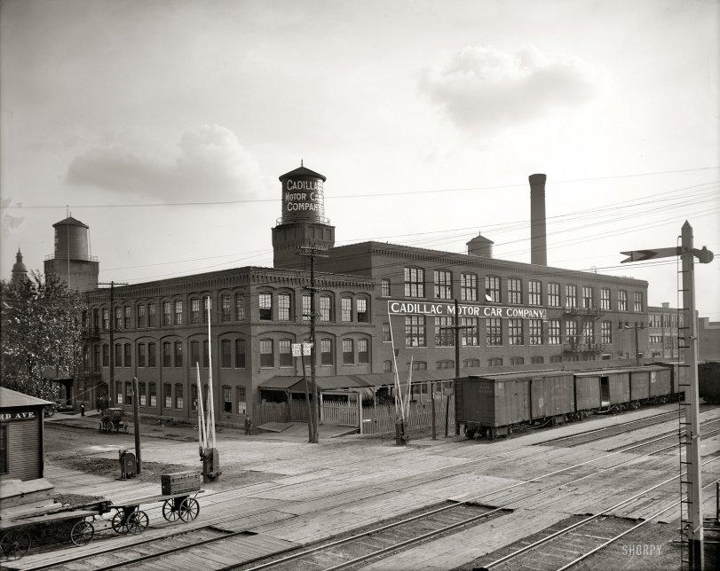 Cadillac: 1908