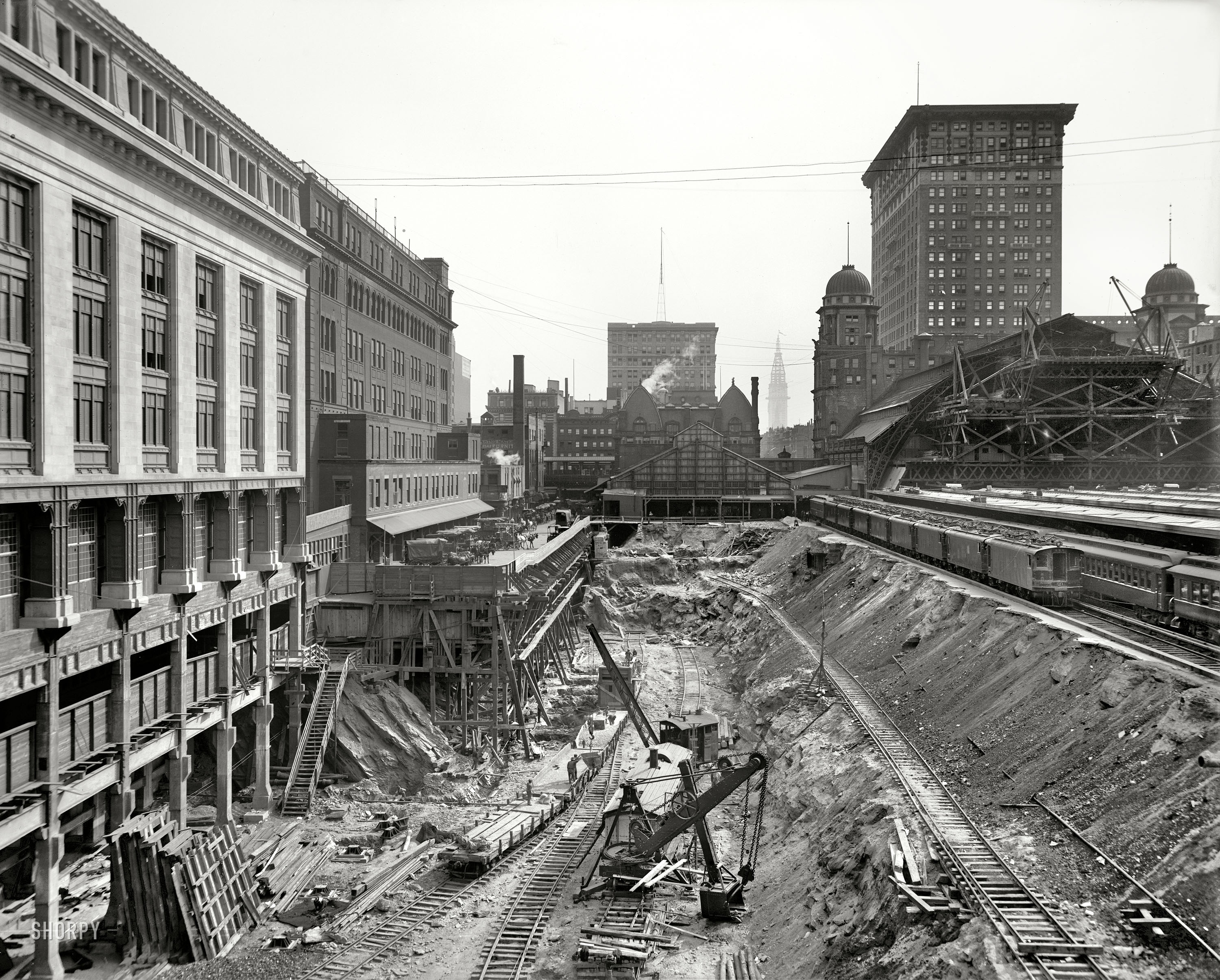 Shorpy Historic Picture Archive Grand Central 1908