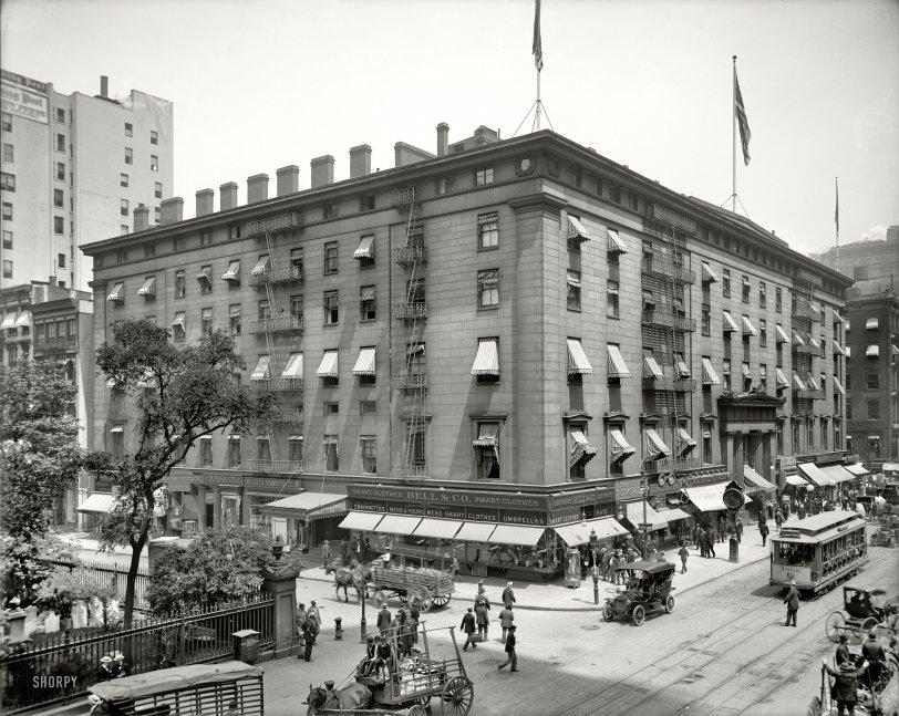 Astor House: 1908