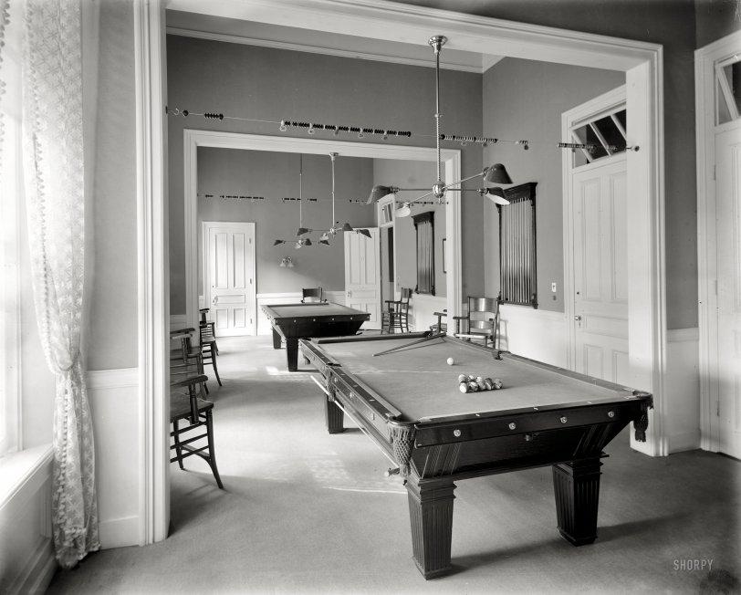 The Billiard Room: 1908