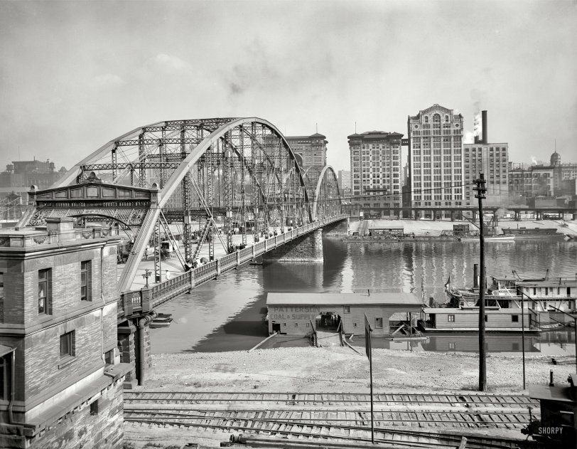 Sixth Street Bridge: 1910