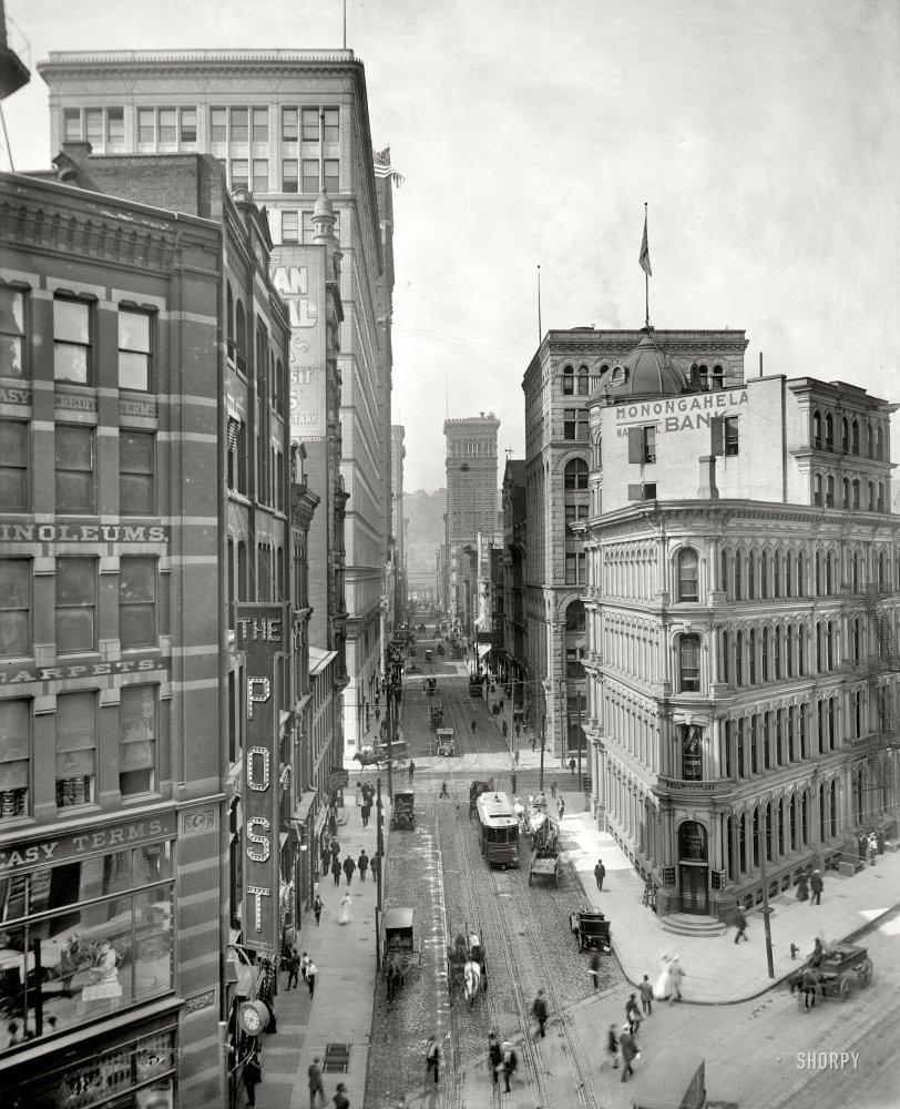 Wood Street: 1910