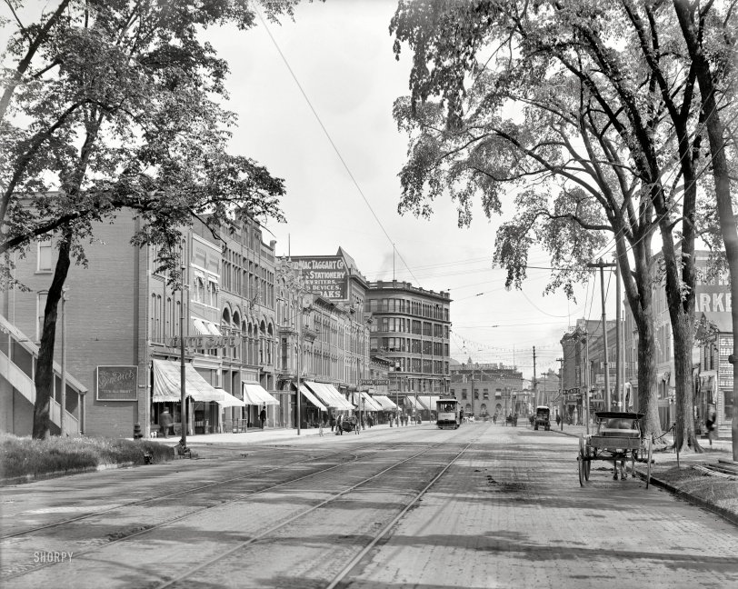 Military Street: 1908