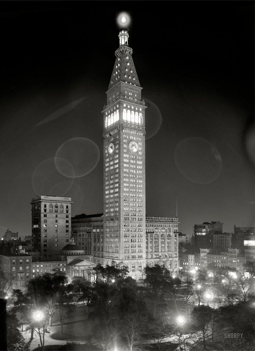 Met Light: 1910