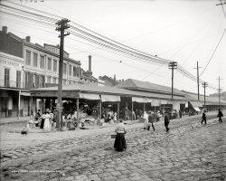 French Market: 1910