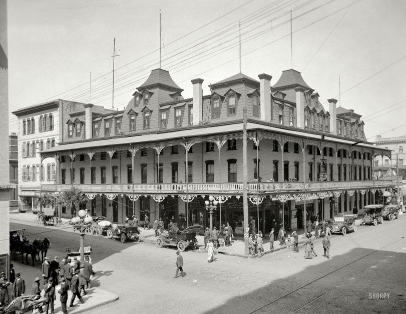 Hotel Duval: 1910
