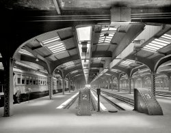 The Train Shed: 1911