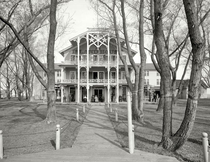 Star Island House: 1910