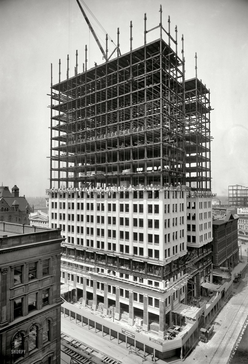 Going Up: 1911