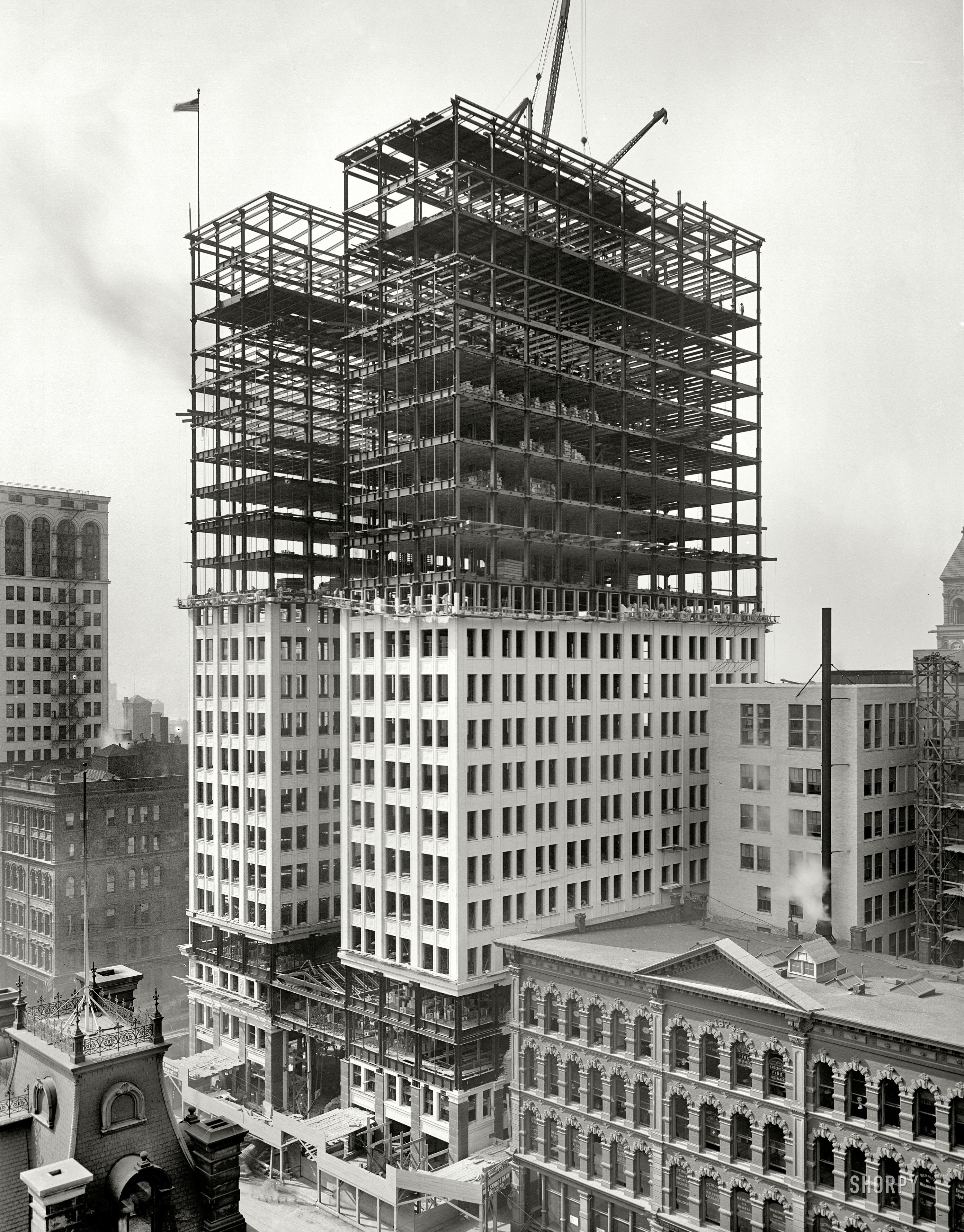 Renaissance Building Under Construction