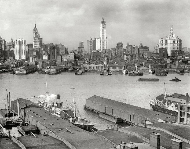 Three Skyscrapers: 1912