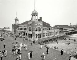 The Steel Pier: 1910
