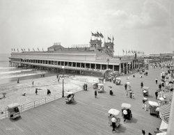Steeplechase Pier: 1910