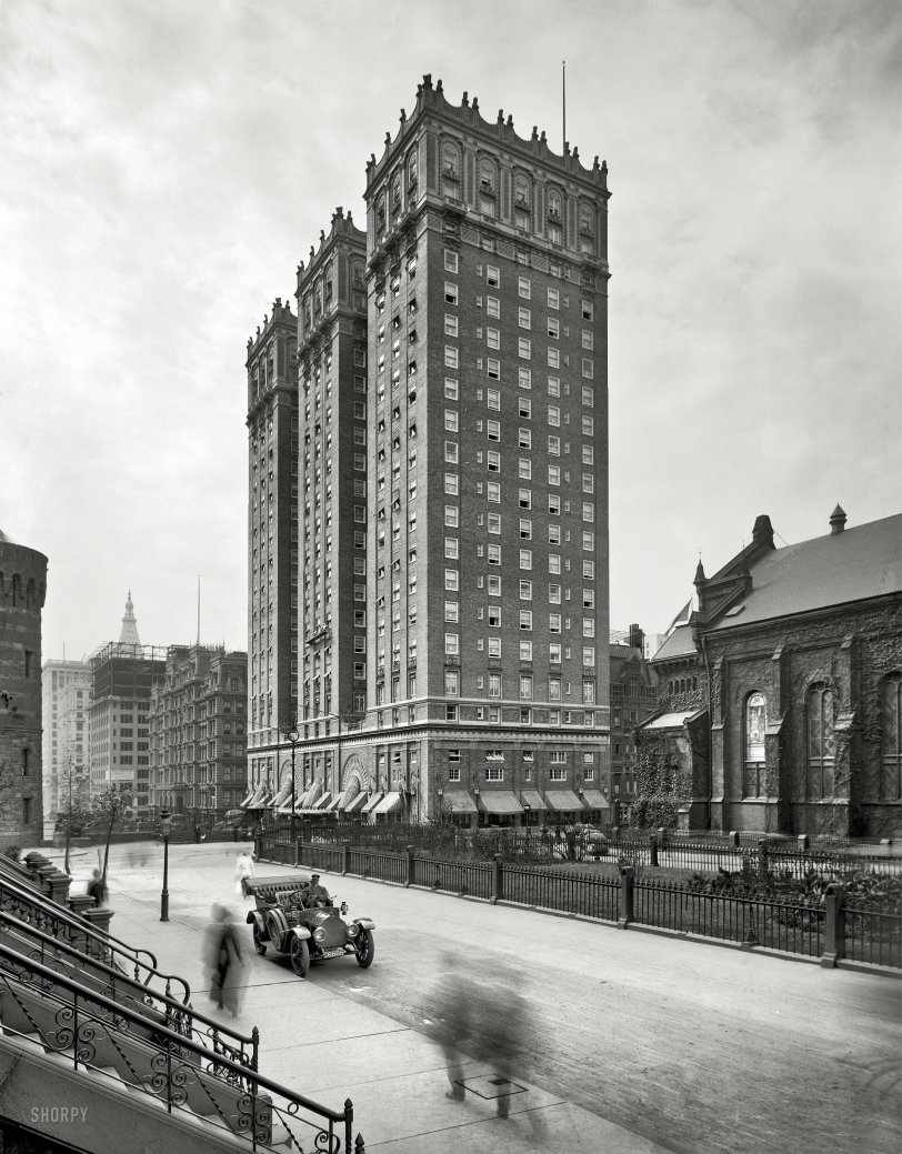 Vanderbilt Hotel: 1913