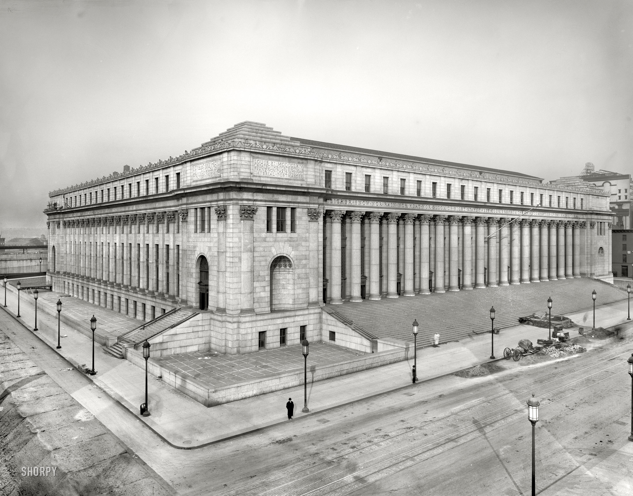 Shorpy Historic Picture Archive :: Neither Snow Nor Rain: 1900  High Resolution Photo